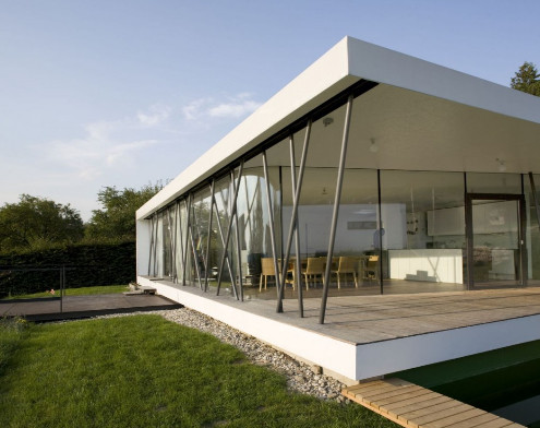 Luxury Minimalist House Design in 2012 Concept Inspiring