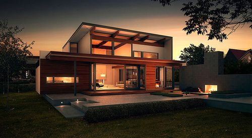 Luxury Modern Green Homes Architecture