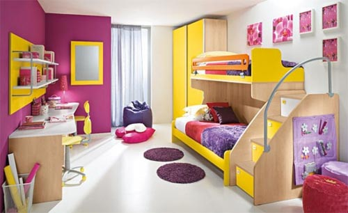 Minimalist Children Room Design Inspired 2011
