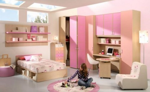 Minimalist Girls Bedroom Concept Designs