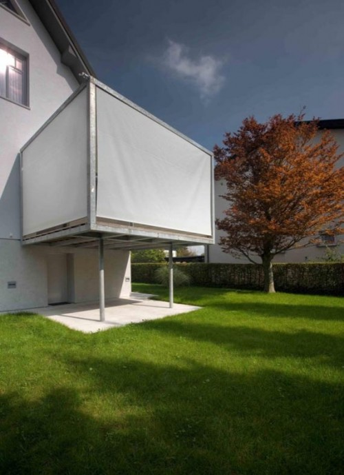 Minimalist Grass Home Designs Exterior