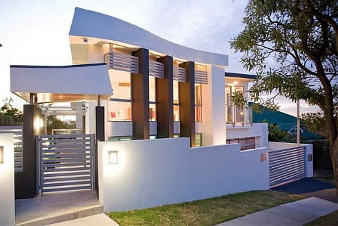Minimalist House with Natural Designs Exterior