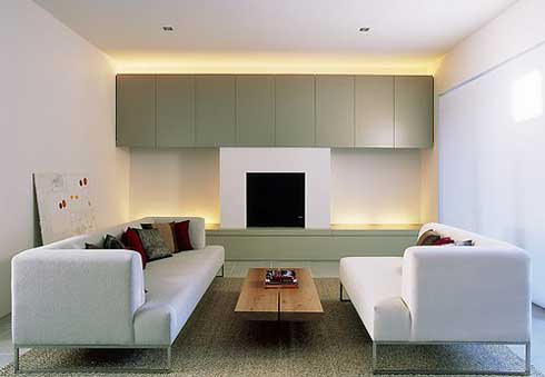 Minimalist Living Room Desigsn in 2012