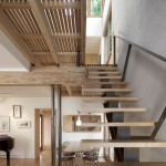 Minimalist Modern Wood Stairs Home Art 150x150 Modern Wood Stairs House Interior Designs