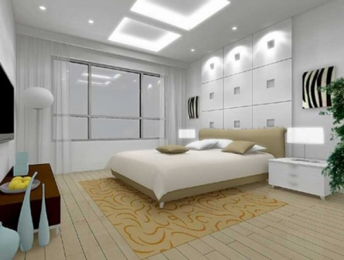 Modern Bedroom Perfect Lighting wall Ideas
