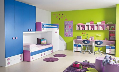 Modern Colorful Children Room Design Art