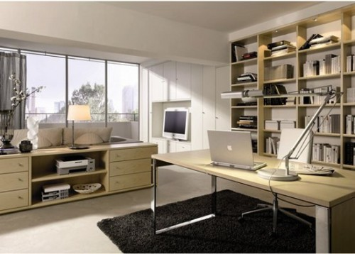 Modern Home Office Room Type Designs Ideas