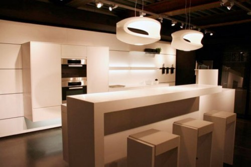 Modern Kitchen Concept Art 500x332 Various Designs And Kitchen Type