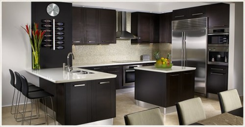 Modern Kitchen Ideas Concept Interior