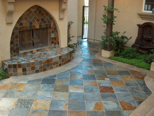 Modern Natural Stone Flooring Designs Concept Ideas