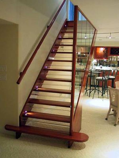Modern Simple Wood Stairs Designs