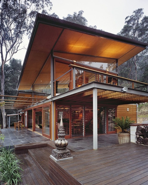 Modern Timber Frame Home Design in 2012 Type
