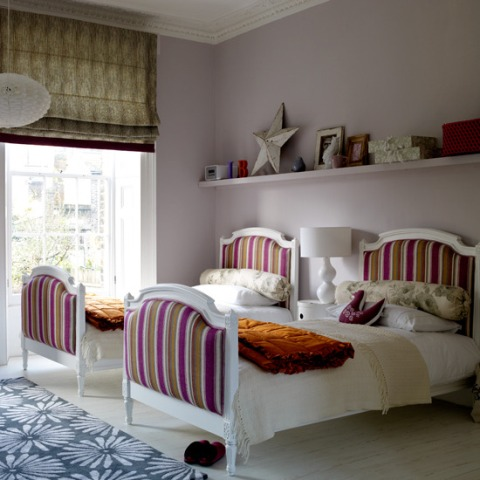 Modern Twins Children Bedroom with Europa Designs