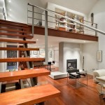 Modern Wood Stairs House Interior Designs 150x150 Elegant Modern Wood Stairs Home Design