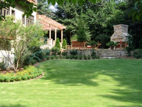 Natural Green Garden Home Designs Inspiring