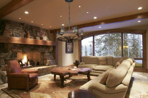 Natural Living Room Lighting Designs Concept for 2011