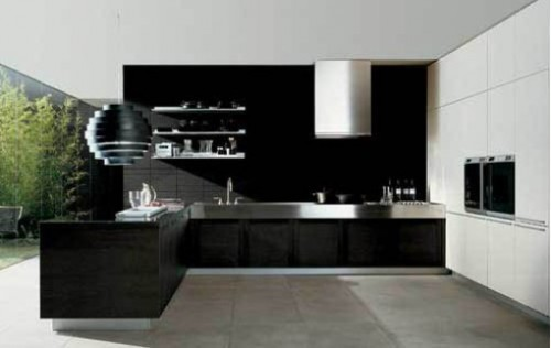 Natural Minimalist Kitchen Designs 2012 500x316 Kitchen Set For Small Houses Tips