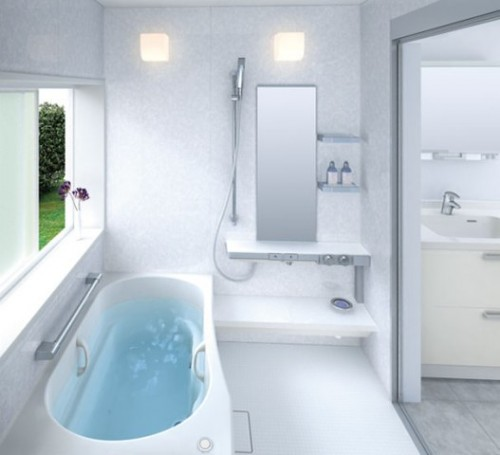 New Bathroom Designs with Luxurious Concept