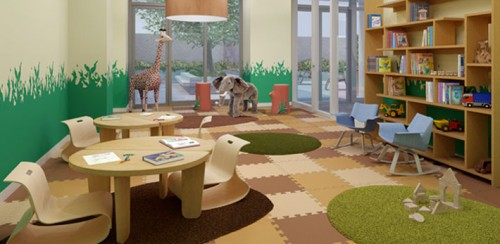 New Colorfull Children Playroom Design Ideas