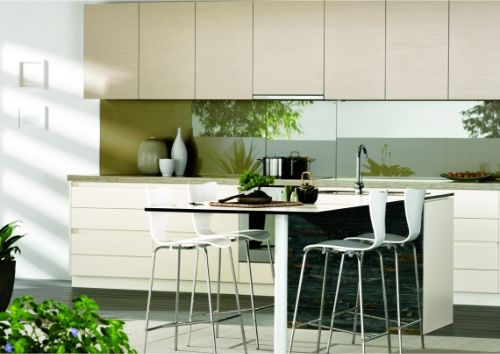New Kitchen with Natural Designs Art