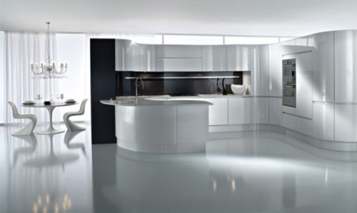 New Modern Minimalist Kitchen Interior