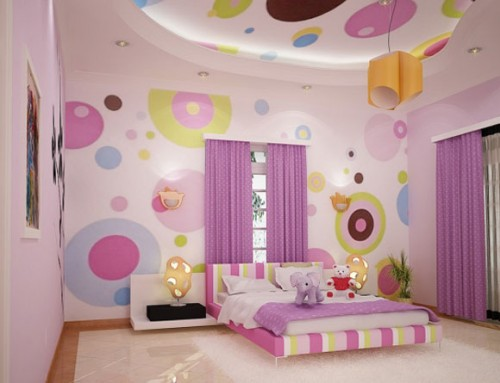 Nice Kids Bedroom Wallpaper Designs