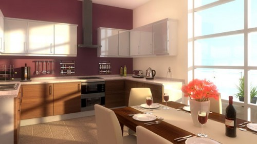 Nice Kitchen Wallpaper Concept Designs