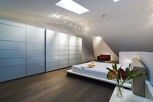 Nice Minimalist Bedroom Interior Art