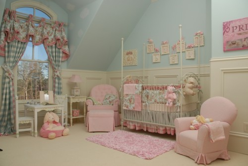 Nursery Room For Baby Girls