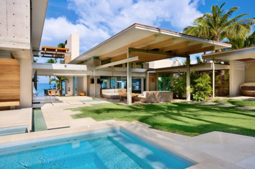 Tropical House Architecture Designs 2012 500x332 Modern Tropical House Design Architecture