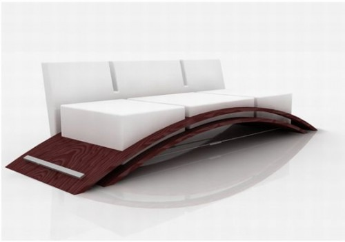Volant Sofa is designed by Patricia Urquiola