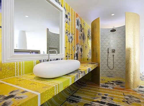 Yellow Bathroom Model Type