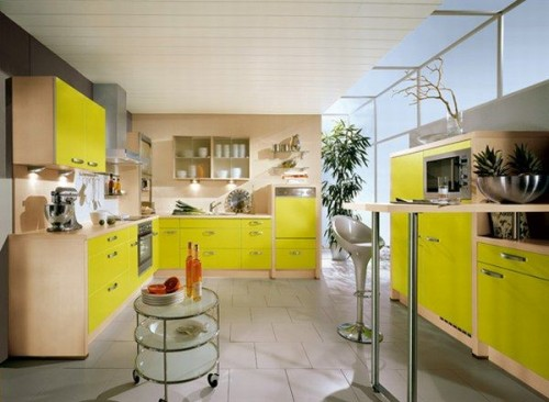 Yellow Small Kitchen Ideas