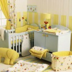 Yellow baby room design ideas 150x150 Full Color BAby Decorating Interior Designs